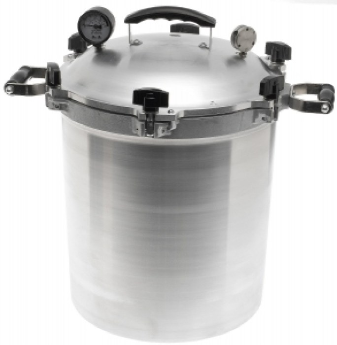 All-American 30-Quart Pressure Cooker-Canner
