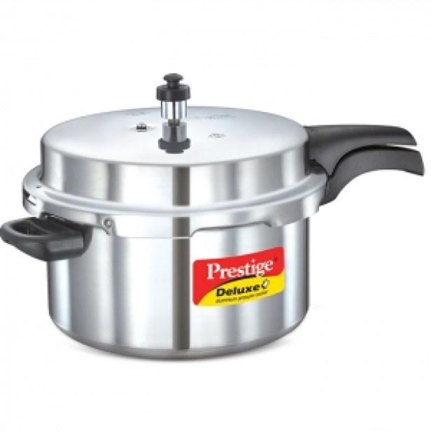 Deluxe plus Aluminum Pressure Cooker (7 liters):