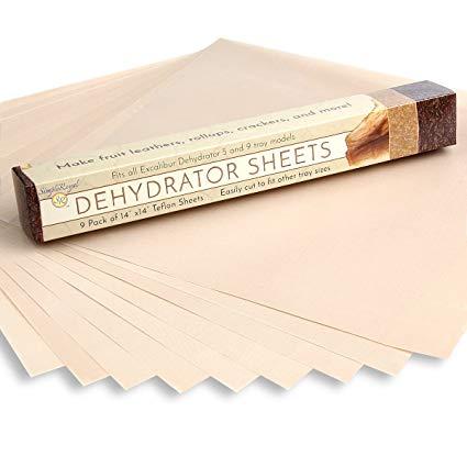 Dehydrator sheets