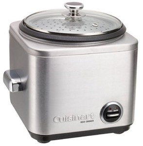 . Cuisinart NONSTICK 8 Cup Rice Cooker with Measuring Cup and Rice Spatula Included