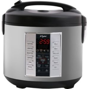 Rice Cooker 20 Cups Cooked with Digital LED Controls