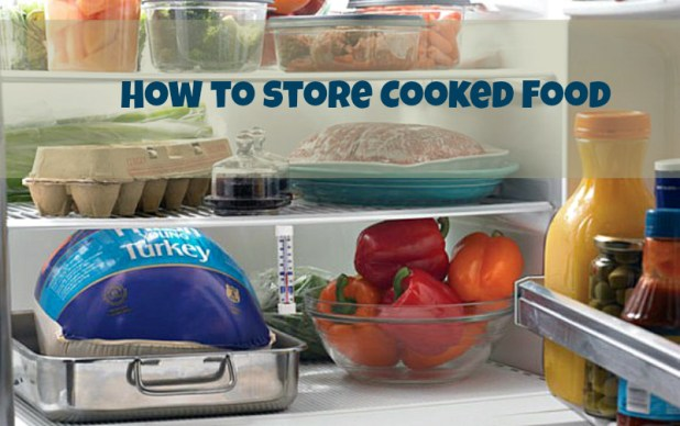 How to store cooked food