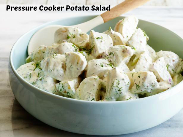 Pressure cooker potato salad