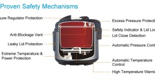 Electric pressure cooker safety