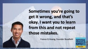 France Hoang on Successful Nonprofits Podcast