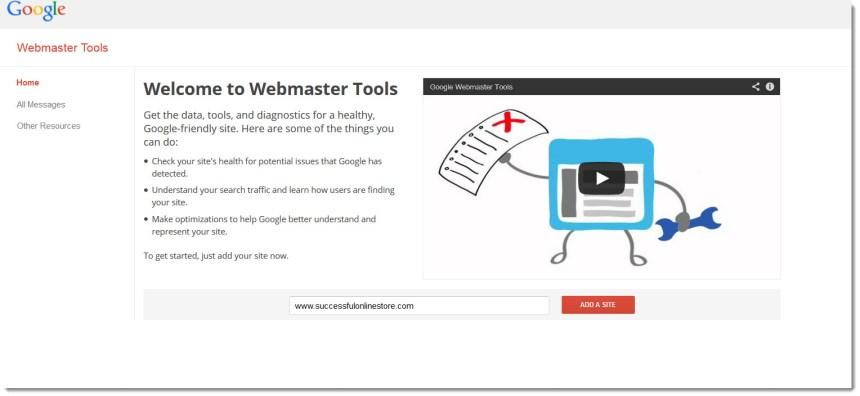 benefits of google webmaster