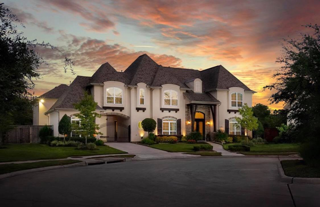 big beautiful house