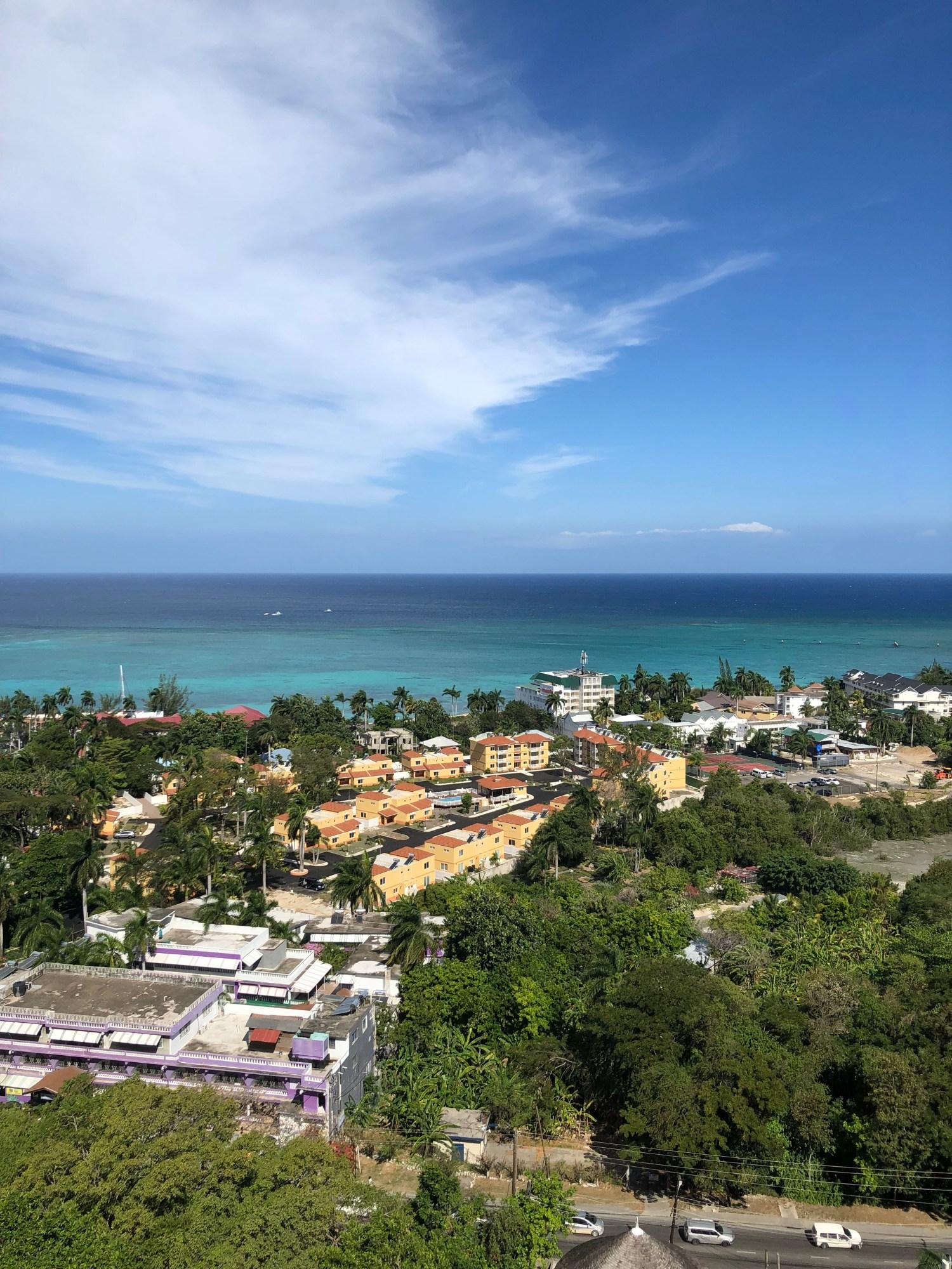 ocean view blue