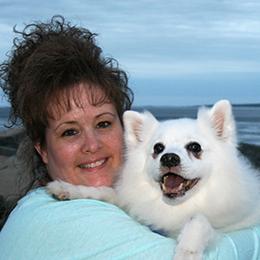 Eskie Mom - Debi and Niko