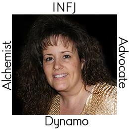 Debi - My Archetypes - INFJ, Advocate, Alchemist and Dynamo