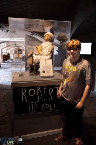 Robert the haunted doll in Key West