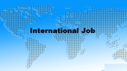 how to get an international job