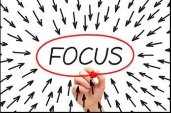 focus on productivity