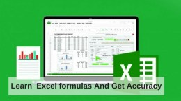 Learn Excel formulas for students