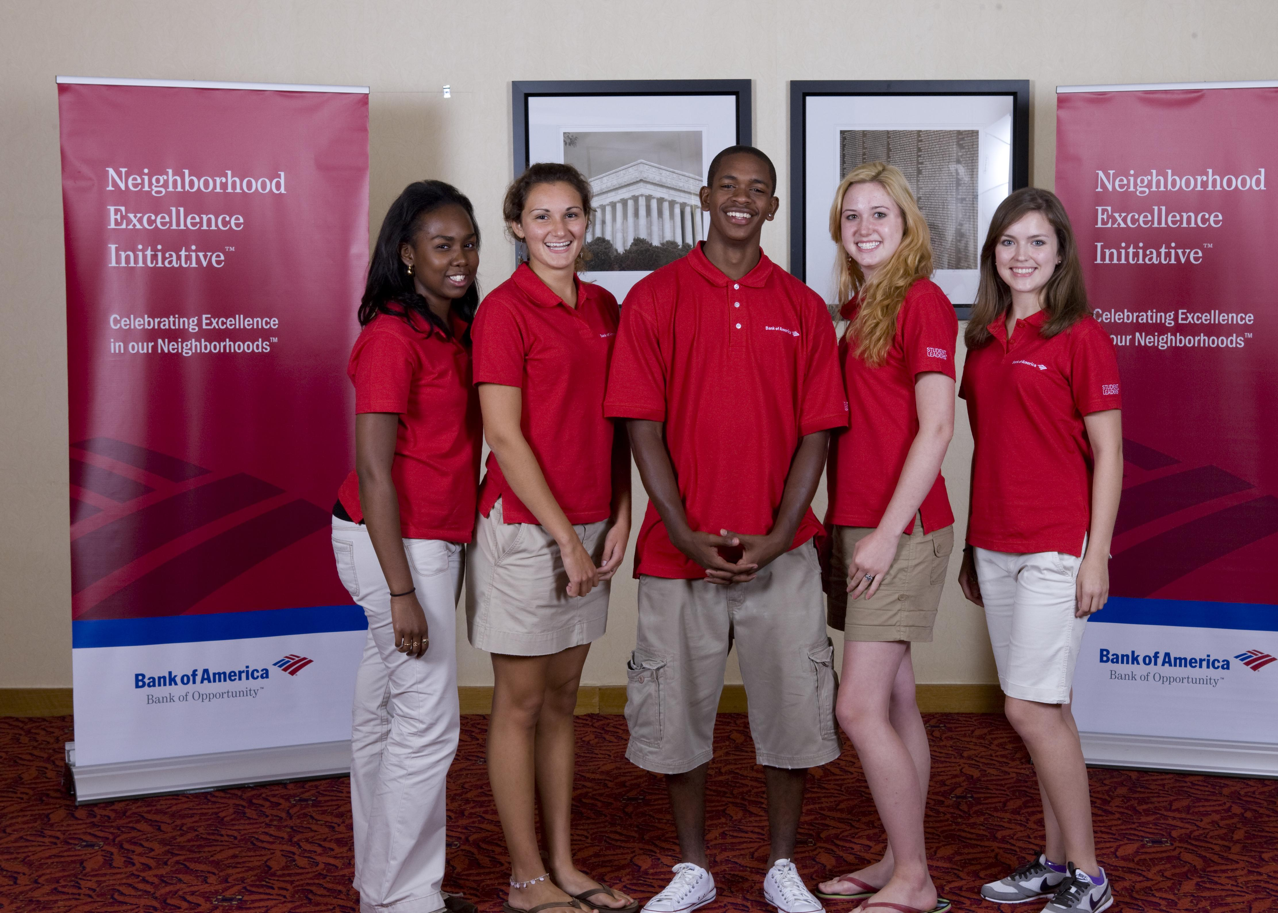 L to R: Shanice Sandiford, Monica Wilson, Anthony Williams, Success Won't Wait's Ashley McNeill, and Julie Hall.