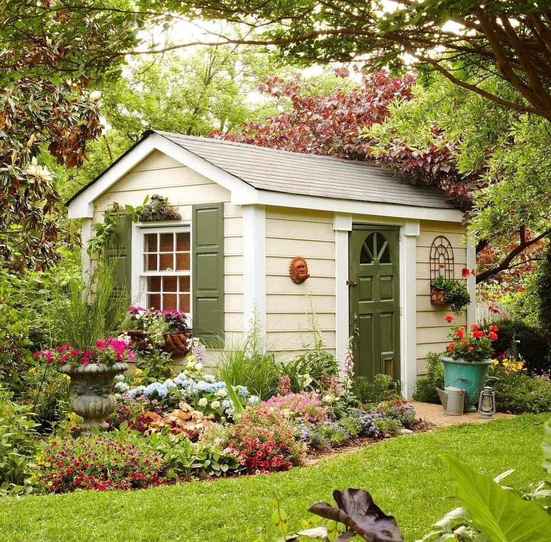 Las casetas de jard n m s bonitas de la red succulent avenue for Casetas de jardin pequenas