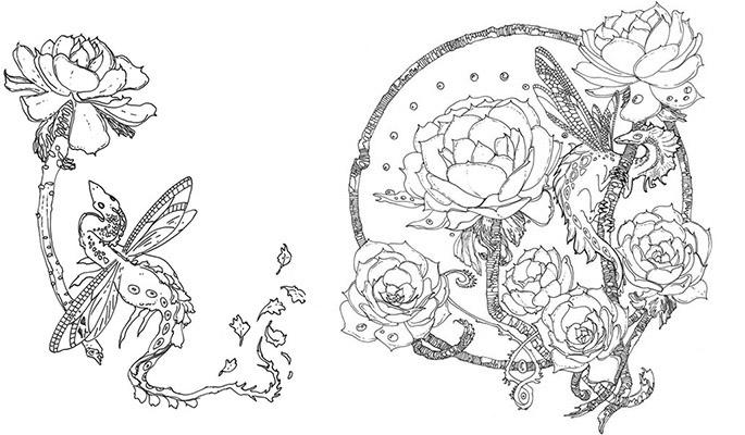 Succulent Dragons & other insatiable garden denizens, an