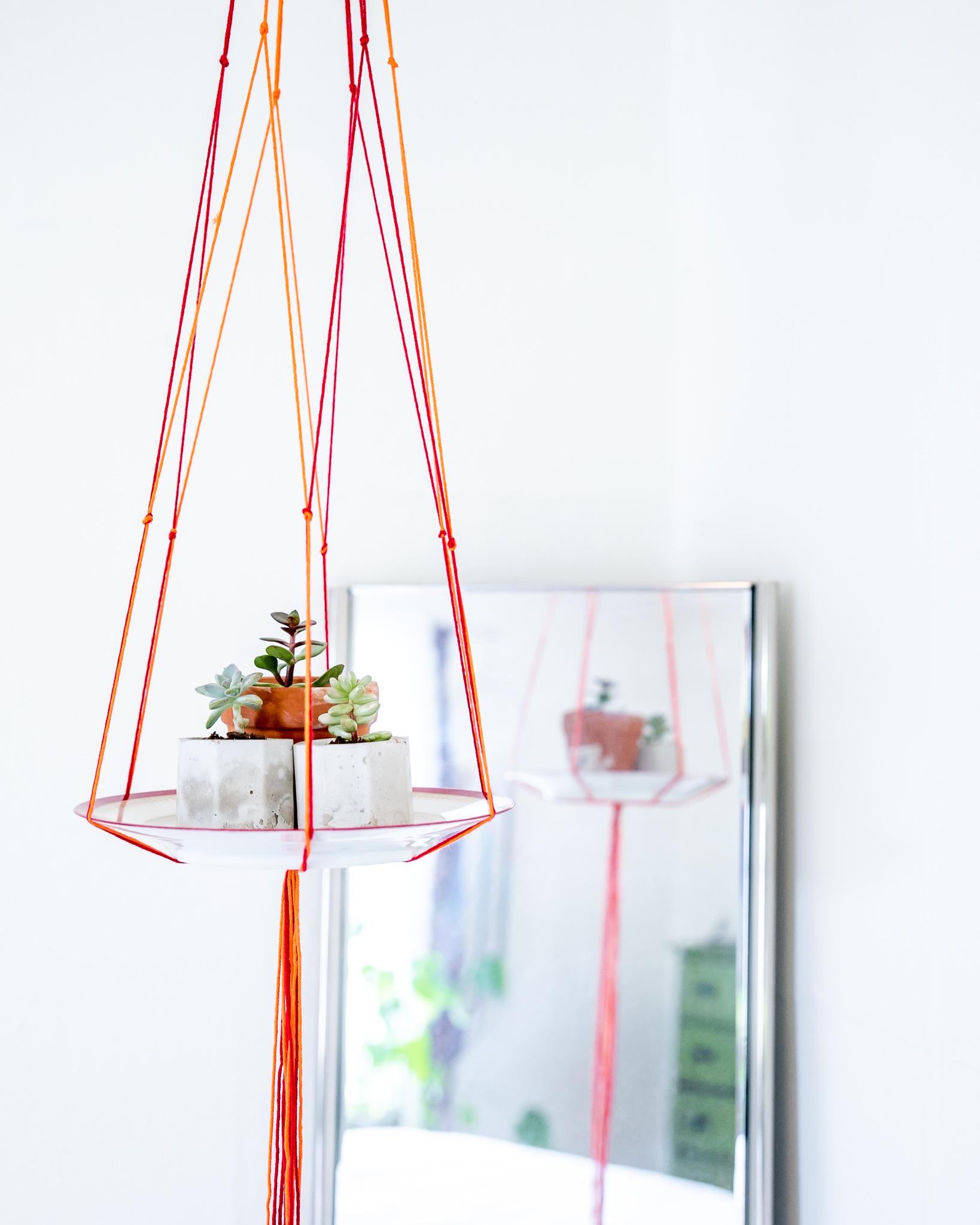 Easy Succulent Macrame DIY