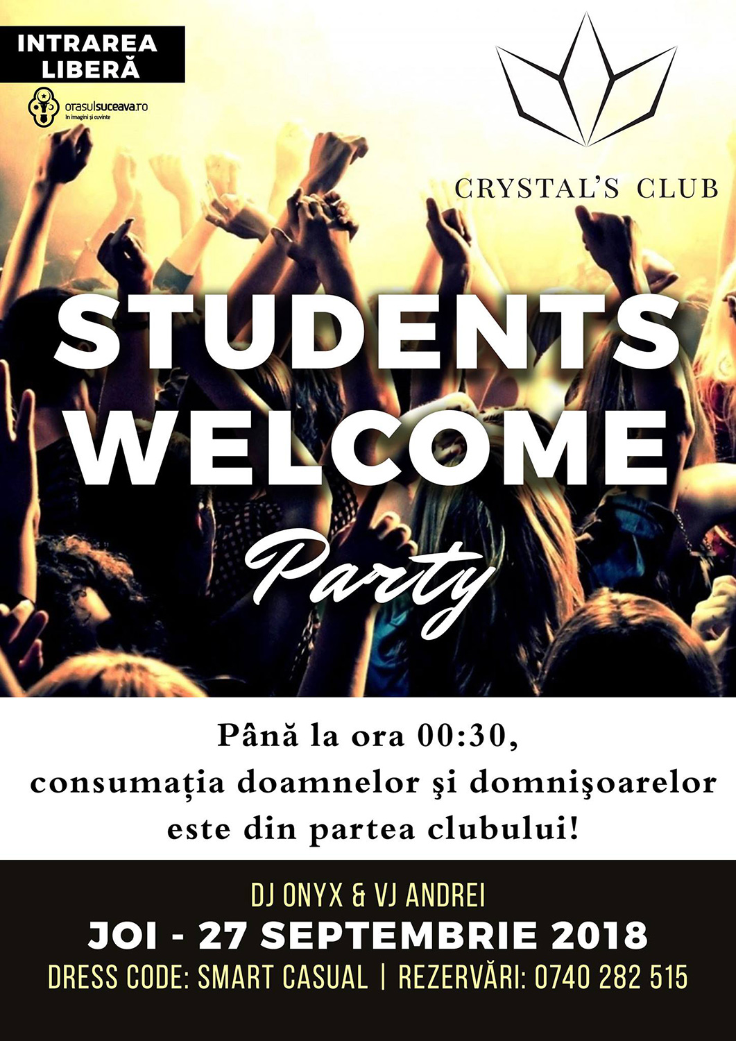 Stundents Welcome Party