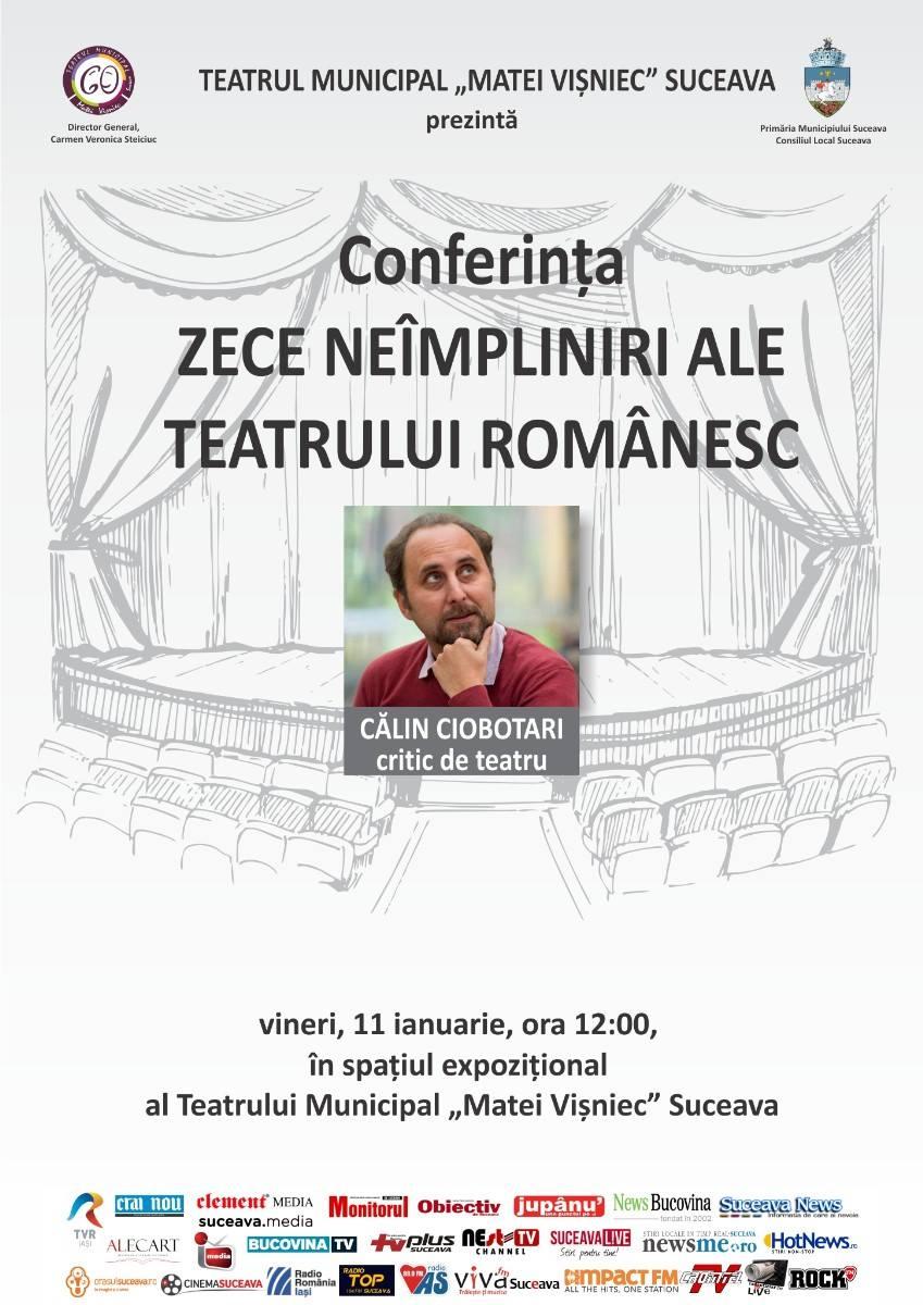 Zece neîmpliniri ale teatrului românesc