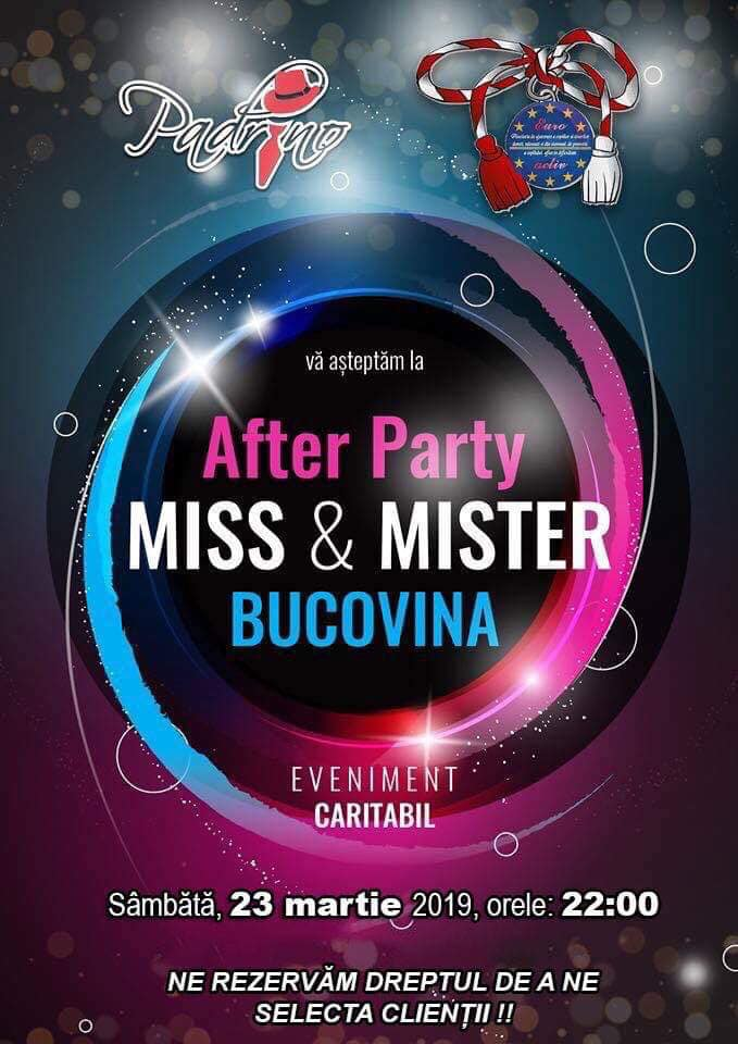Miss & Mister Bucovina (2019) (after party)