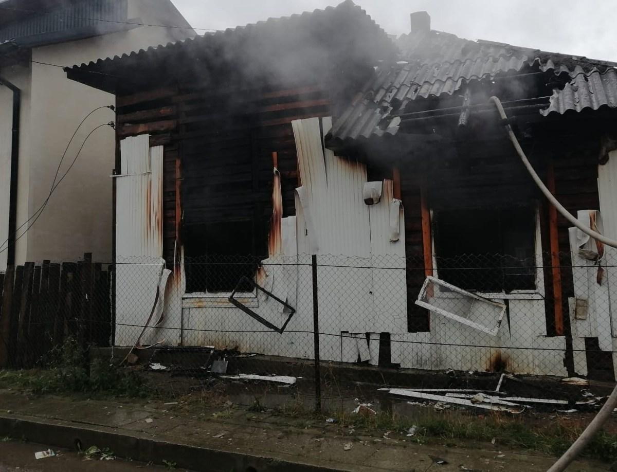 Incendiu la o locuință din orașul Gura Humorului