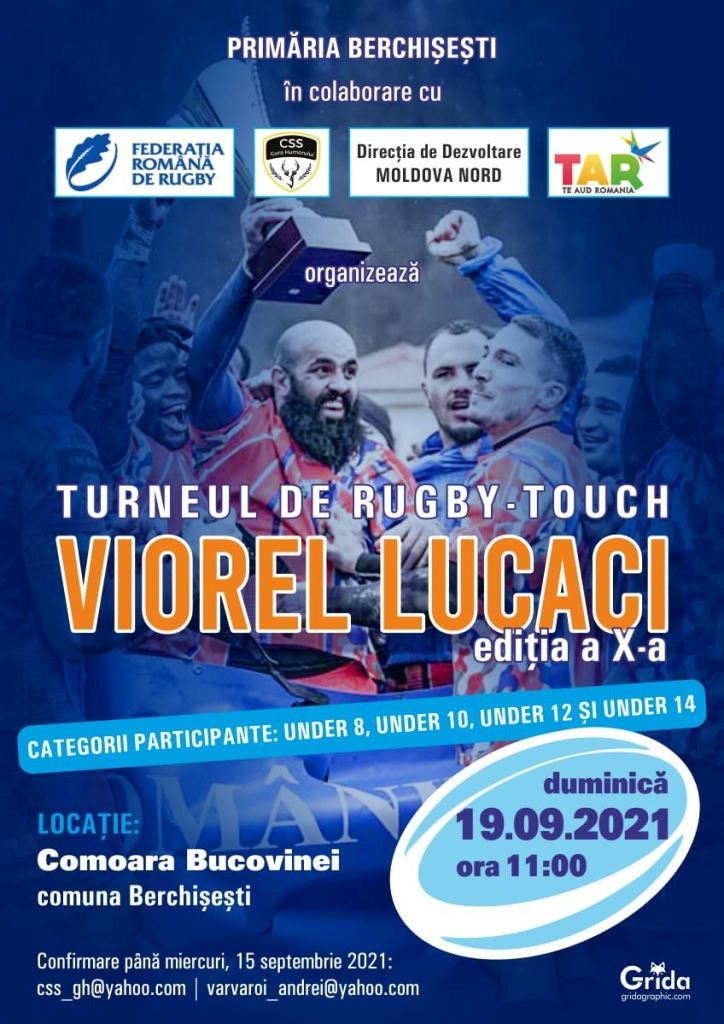 Turneul de rugby-touch Viorel Lucaci