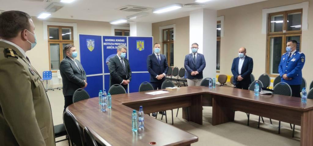 Gheorghe Alexandru Moldovan a fost repus în funcția de prefect al județului Suceava