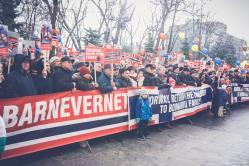 Protest pentru familia Bodnariu Suceava 10