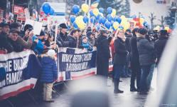 Protest pentru familia Bodnariu Suceava2