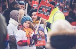 Protest pentru familia Bodnariu Suceava3