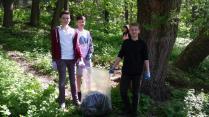 curatenie Parc Sipote Suceava aprilie 201607
