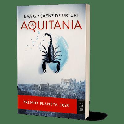 Portada del libro Aquitania de Eva García Sáenz de Urturi