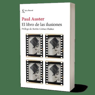 Portada libro El libro de las iluciones de Paul Auster