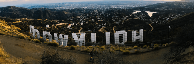 La La Land Hollywood Sign