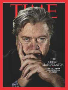 Steve Bannon on TIME Cover