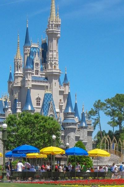 Cinderella's castle at Magic Kingdom in Walt Disney World.