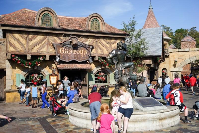 Gastons Tavern Fantasyland, Magic Kingdom.