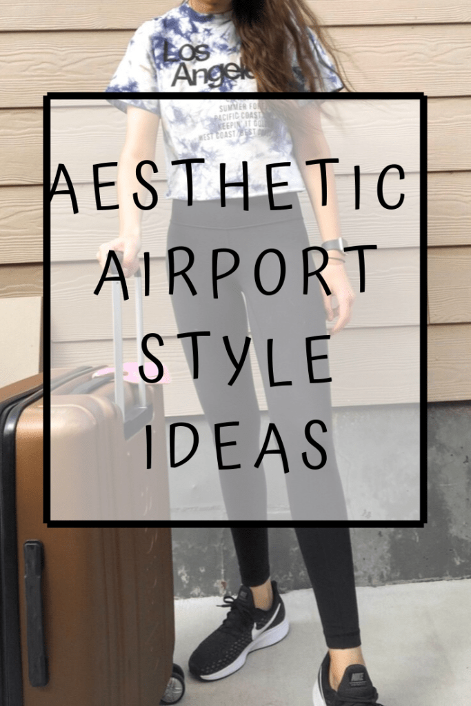 Aesthetic airport fashion outfit ideas Pinterest images