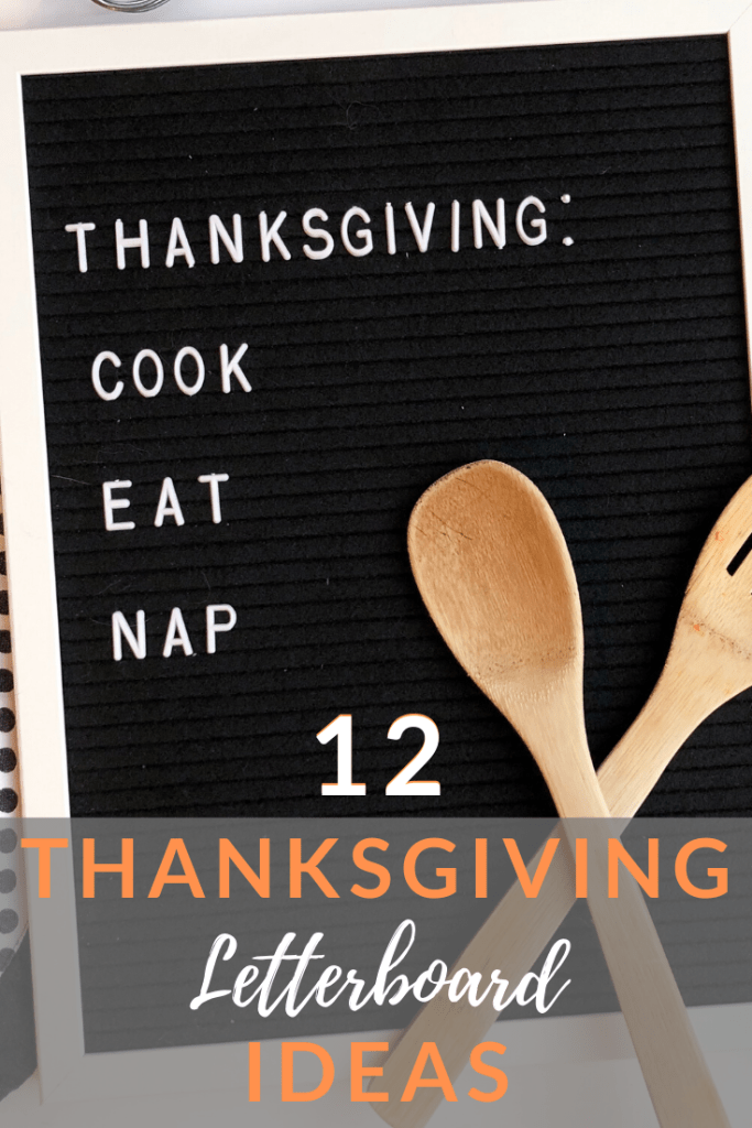 Thanksgiving Letterboard Quote Ideas.
