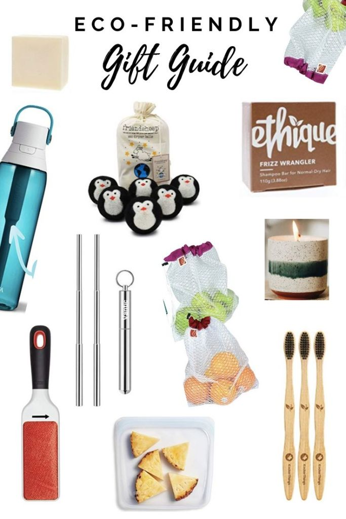 Eco-friendly gift guide.