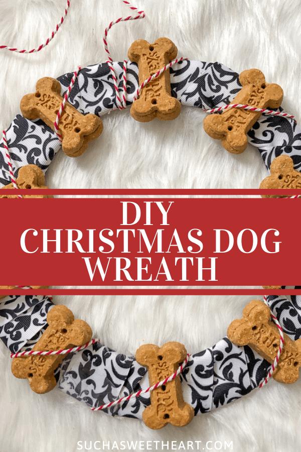DIY Christmas Dog Wreath