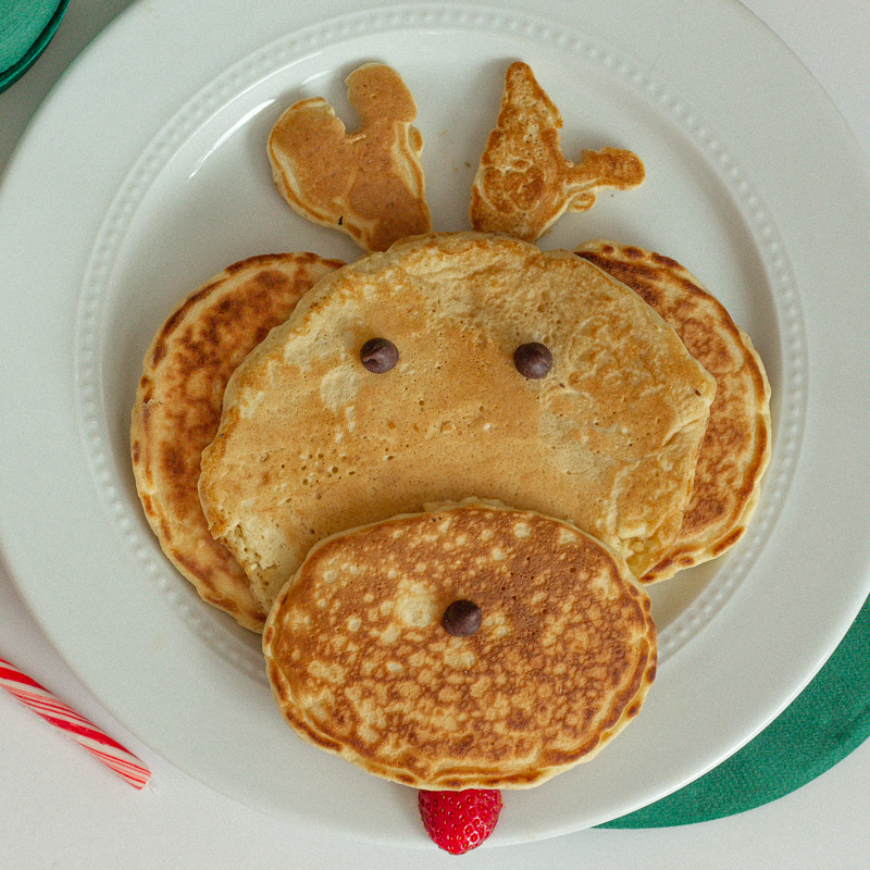 Max the dog / reindeer pancakes from The Grinch.