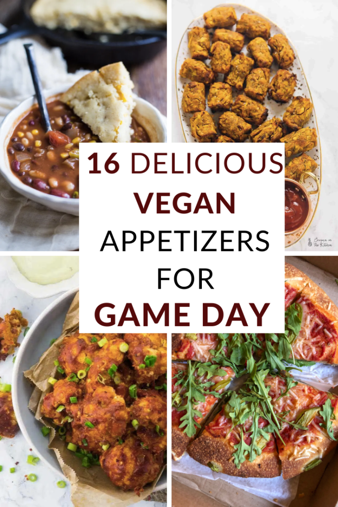 16 Delicious Vegan Appetizers for Game Day