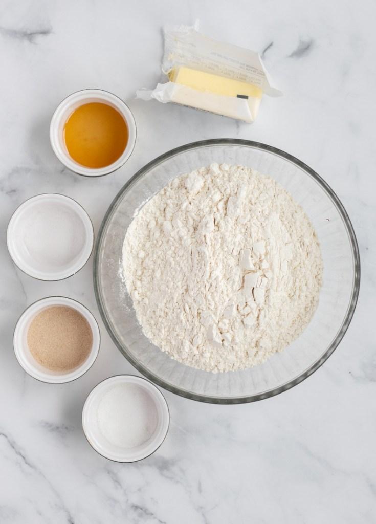 High Altitude Bread Ingredients.