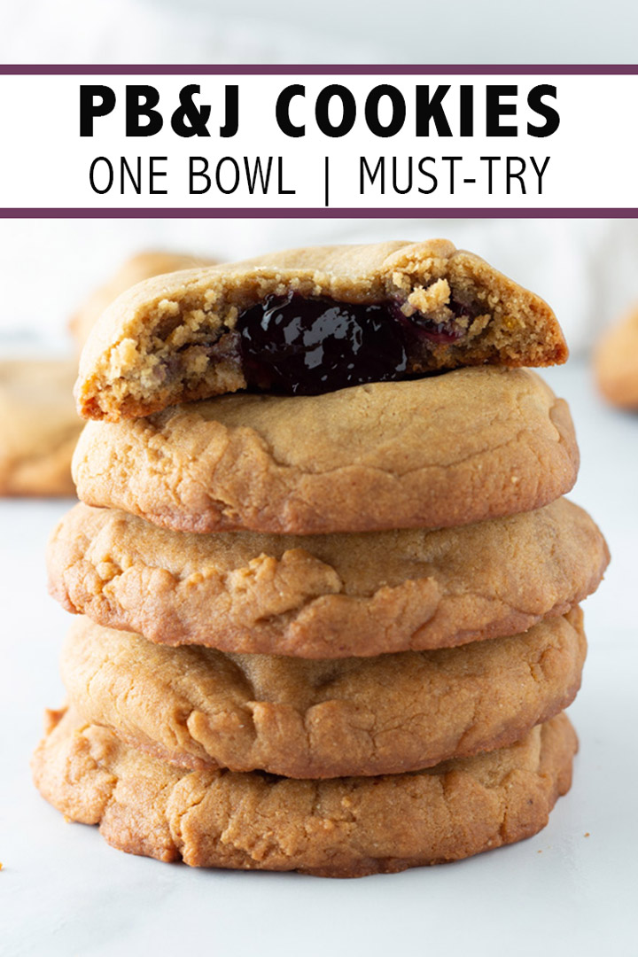 PB&J Cookies Pinterest Pin