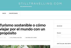 Still Traveling (Spanish) March 2016