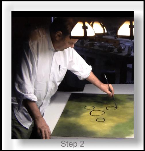 Synergy 1 - Step 2 Dan Aykroyd painting