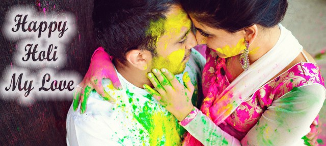 Happy holi love images for whatsapp, facebook, twitter,