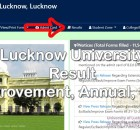 Lucknow University Result 2021 (Improvement, Back Paper, Annual, Sem)